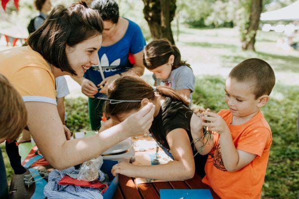 Imaginarium: Parcul cu râu — atelier de arhitectură pentru copii