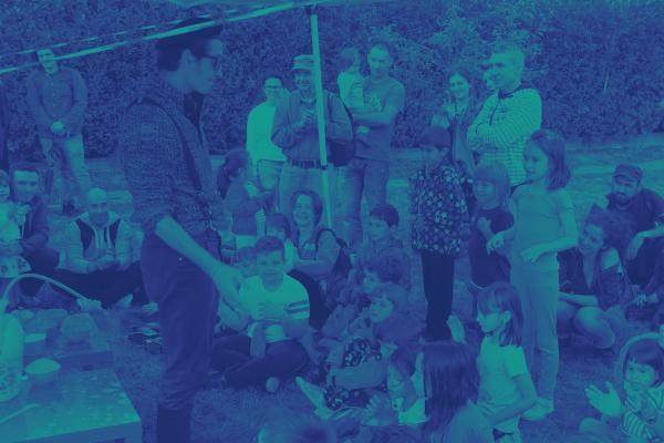 Stropi de voie bună — jocuri cu apă pentru copii / atelier