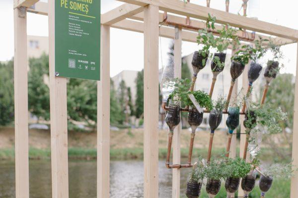 Atelier POP-UP GARDENING PE SOMEȘ | Grădina verticală din materiale reciclate