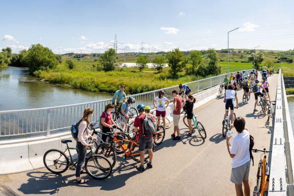 Pedalează la Someș – Tur biciclete  (organizat de SOS Someșul Nostru)
