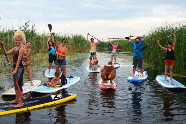 Leapșa pe apă – concurs paddle board cu SupAcademy